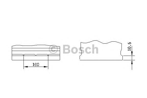 Стартерная аккумуляторная батарея BOSCH 0 092 S30 160 - Фото #1