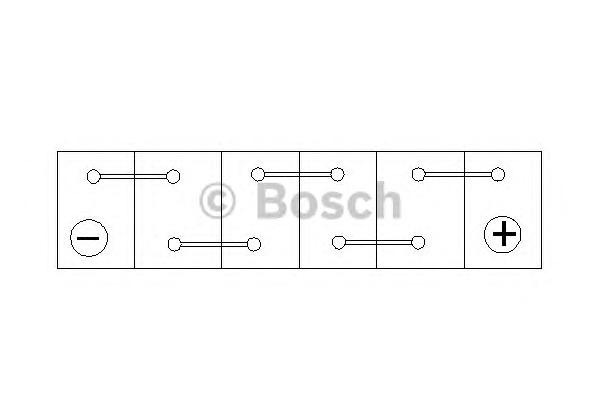 Стартерная аккумуляторная батарея BOSCH 0 092 S30 160 - Фото #2
