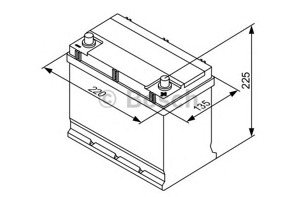 Стартерная аккумуляторная батарея BOSCH 0 092 S30 160 - Фото #6