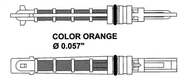 Расширительный клапан, кондиционер NRF 38449 - Фото #1