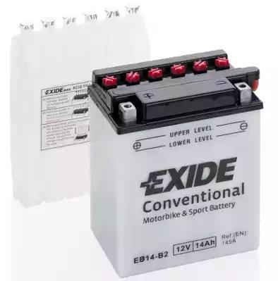 Стартерная аккумуляторная батарея  Стартерная аккумуляторная батарея EXIDE EB14-B2 - Фото #1