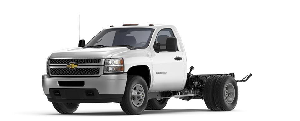 SILVERADO 3500 HD Cab & Chassis (US)