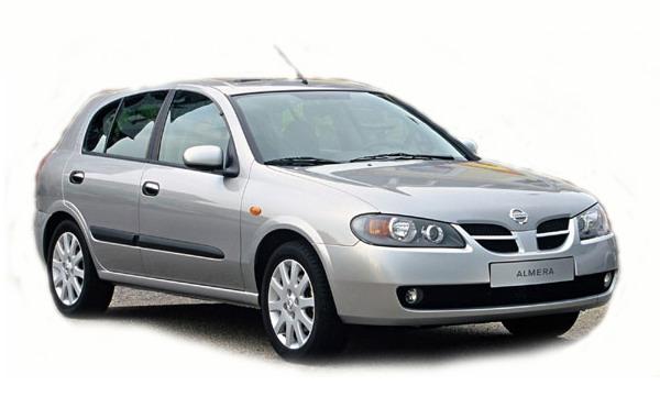ALMERA II Hatchback (N16)
